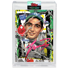 Load image into Gallery viewer, Sandy Koufax by Tyson Beck - RUBY AUTOGRAPH - LIMITED TO 25 + Topps Collector Card