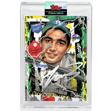 Load image into Gallery viewer, Sandy Koufax by Tyson Beck - SILVER AUTOGRAPH - LIMITED TO 75 + Topps Collector Card