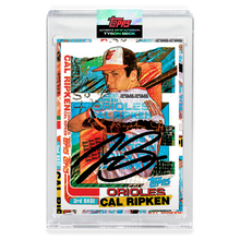 Load image into Gallery viewer, BLACK AUTOGRAPH - Topps PROJECT 2020 Card - 1982 Cal Ripken Jr. by Tyson Beck - Un-Numbered