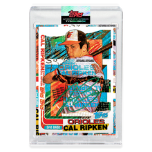 Load image into Gallery viewer, EMERALD AUTOGRAPH - Topps PROJECT 2020 Card - 1982 Cal Ripken Jr. by Tyson Beck - Limited to 30 [PRE-ORDER]