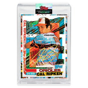 GOLD AUTOGRAPH - Topps PROJECT 2020 Card - 1982 Cal Ripken Jr. by Tyson Beck - Limited to 5 [PRE-ORDER]