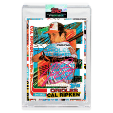 Load image into Gallery viewer, RUBY AUTOGRAPH - Topps PROJECT 2020 Card - 1982 Cal Ripken Jr. by Tyson Beck - Limited to 20 [PRE-ORDER]