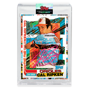 RUBY AUTOGRAPH - Topps PROJECT 2020 Card - 1982 Cal Ripken Jr. by Tyson Beck - Limited to 20 [PRE-ORDER]