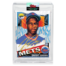 Load image into Gallery viewer, GOLD AUTOGRAPH - Topps PROJECT 2020 Card - 1985 Dwight Gooden by Tyson Beck - Limited to 4