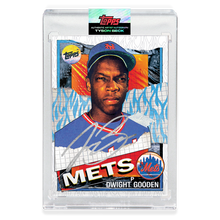 Load image into Gallery viewer, SILVER AUTOGRAPH - Topps PROJECT 2020 Card - 1985 Dwight Gooden by Tyson Beck - Limited to 10