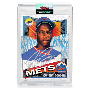 SILVER AUTOGRAPH - Topps PROJECT 2020 Card - 1985 Dwight Gooden by Tyson Beck - Limited to 10