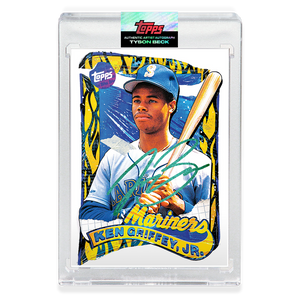 EMERALD AUTOGRAPH - Topps PROJECT 2020 Card - 1989 Ken Griffey Jr. by Tyson Beck - Limited to 10