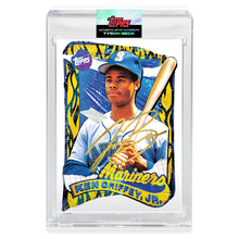 Load image into Gallery viewer, GOLD AUTOGRAPH - Topps PROJECT 2020 Card - 1989 Ken Griffey Jr. by Tyson Beck - Limited to 20
