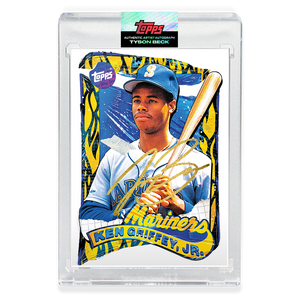 GOLD AUTOGRAPH - Topps PROJECT 2020 Card - 1989 Ken Griffey Jr. by Tyson Beck - Limited to 20
