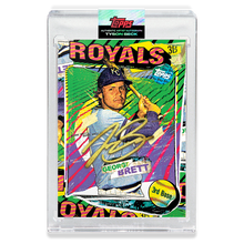 Load image into Gallery viewer, GOLD AUTOGRAPH - Topps PROJECT 2020 Card - George Brett by Tyson Beck - LIMITED TO 5 [PRE-ORDER]