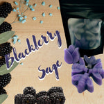 Blackberry Sage Wax Melt Shapes Wax Melts Karma Koated