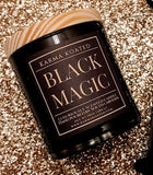 Black Magic 2-Wick Candle 10oz Candle Karma Koated