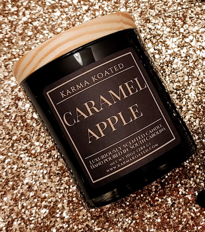 Caramel Apple 2-Wick Candle 10oz Candle Karma Koated