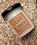 Cozy Cabin Single-Wick Candle 8oz Candle Karma Koated