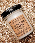 Cranberry Orange Scone Single-Wick Candle 8oz Candle Karma Koated