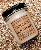 Golden Goddess Single-Wick Candle 8oz Candle Karma Koated