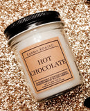 Hot Chocolate Single-Wick Candle 8oz Candle Karma Koated