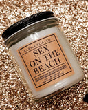 Sex on the Beach Single-Wick Candle 8oz Candle Karma Koated