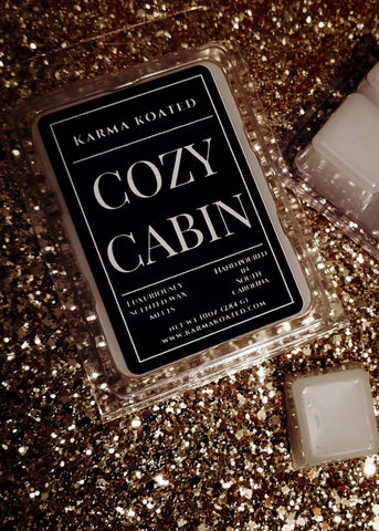 Cozy Cabin Wax Melts Wax Melts Karma Koated