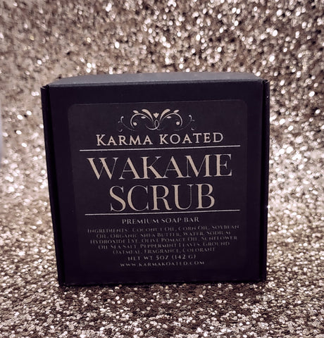 Wakame Scrub Soap Bar Soap Bars Karma Koated