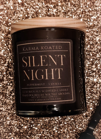 Silent Night 2-Wick Candle 10oz Candle Karma Koated