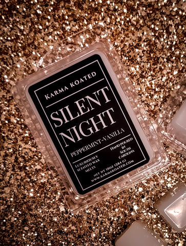Silent Night Wax Melts Wax Melts Karma Koated