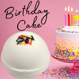 Birthday Cake Bath Bomb Bath Bombs Karma Koated