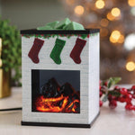 Holiday Fireplace Illumination Tart Warmer Karma Koated