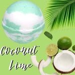 Coconut Lime Bath Bomb Bath Bombs Karma Koated