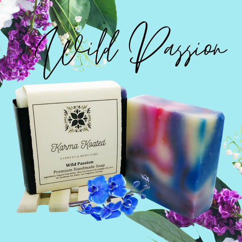 Wild Passion Soap Bar Soap Bars Karma Koated