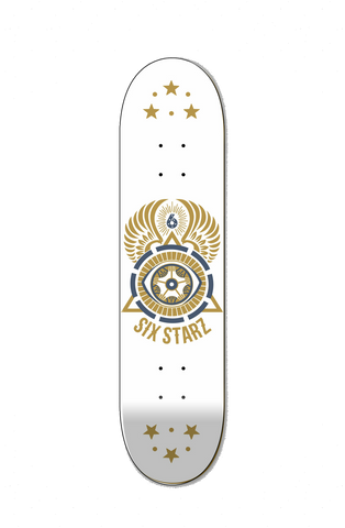 Six Starz illuminati Skateboard