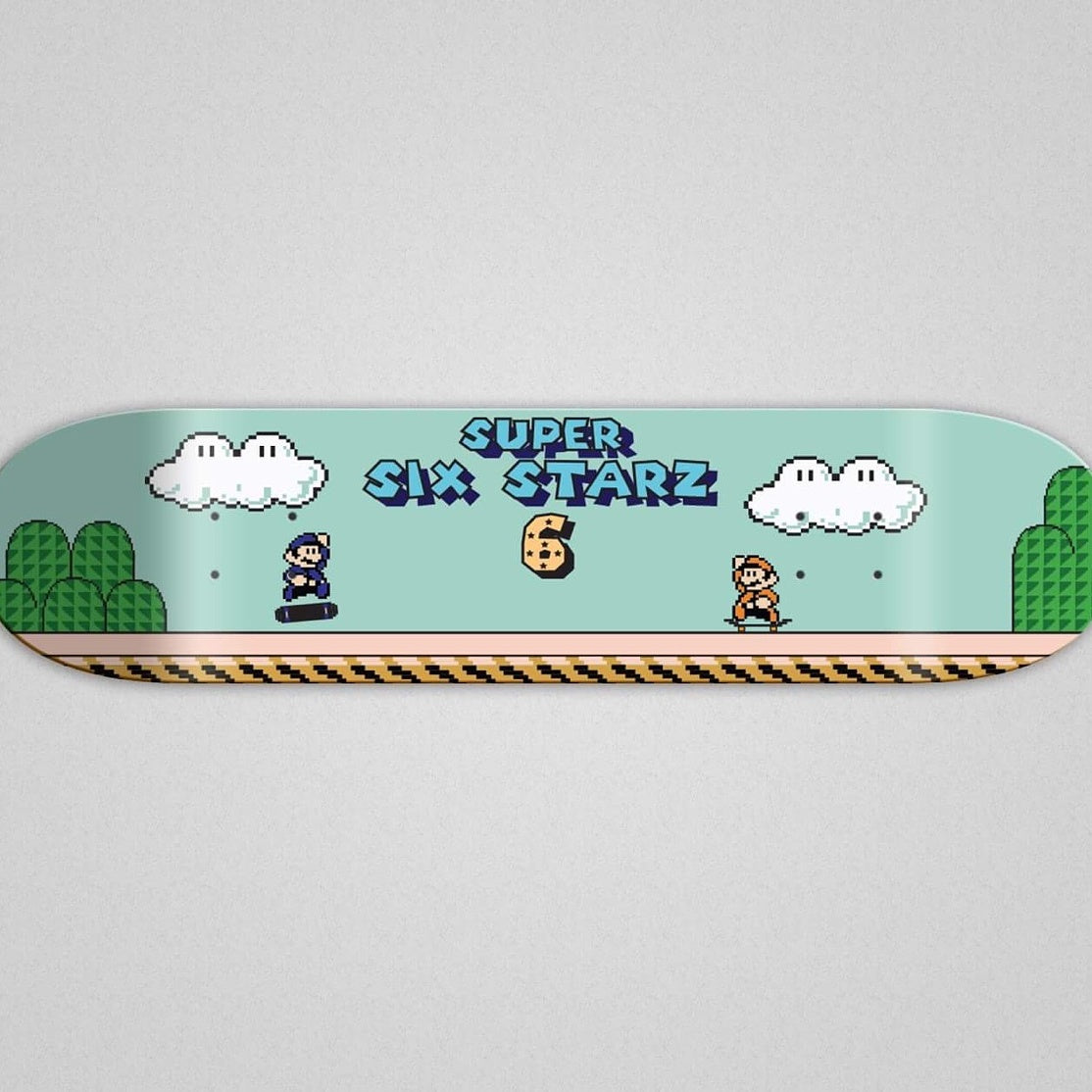 Super Six Starz Skateboard