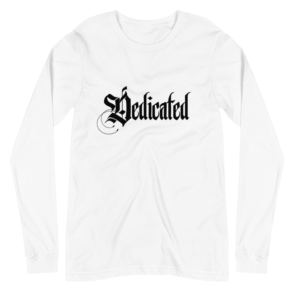 Dedicated Long Sleeve White Shirt