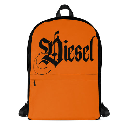 Diesel Orange Backpack