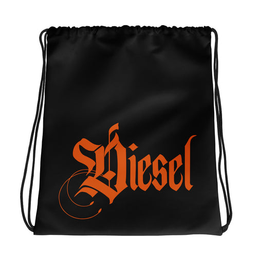Diesel Drawstring Black bag