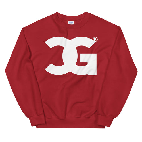 Cxcaine Gvng Red Sweatshirt