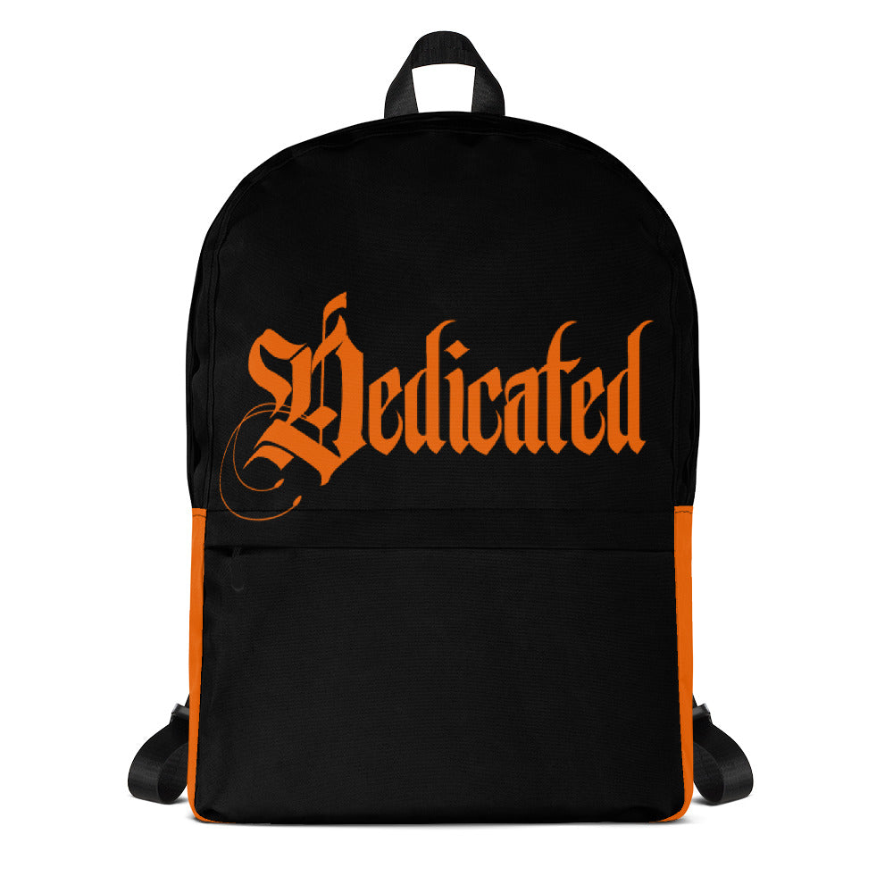 Dedicated Black Backpack