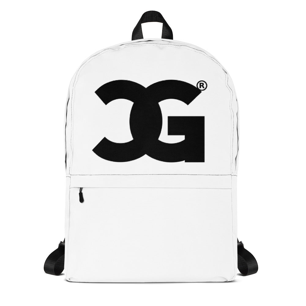 Cxcaine Gvng White Backpack