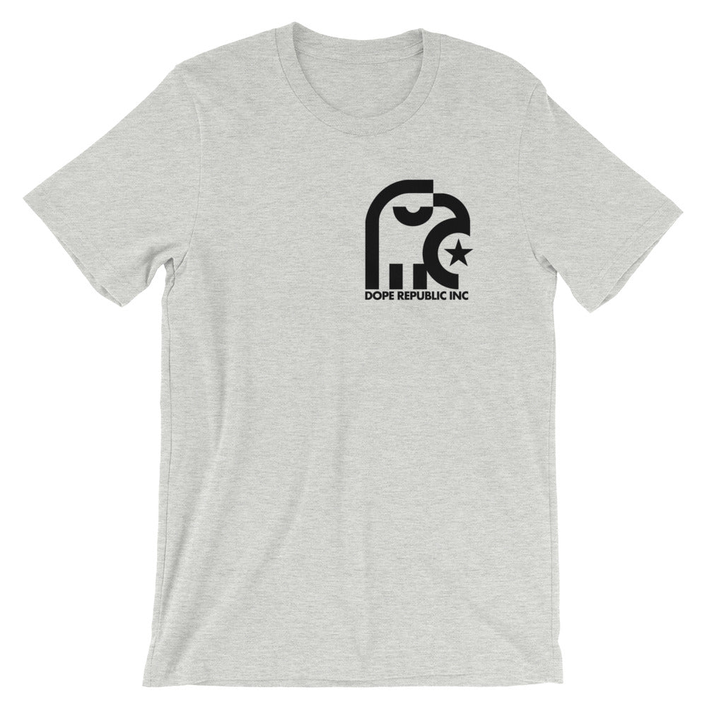Dope Republic Crest Grey T-Shirt