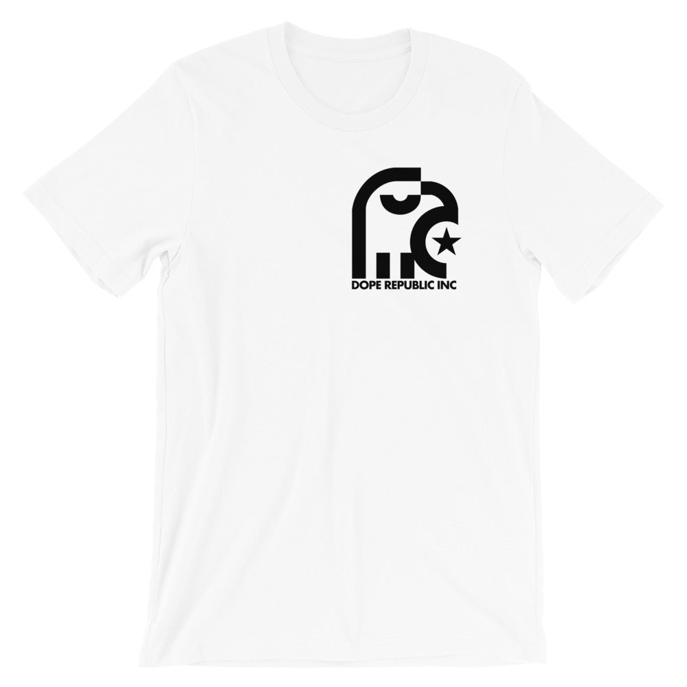 Dope Republic Crest White T-Shirt