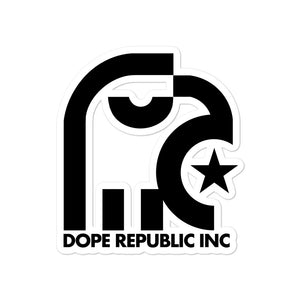 Dope Republic Bubble-free stickers