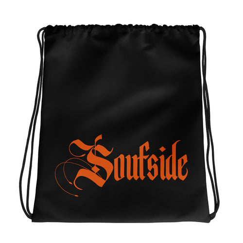 Soufside Drawstring Black bag