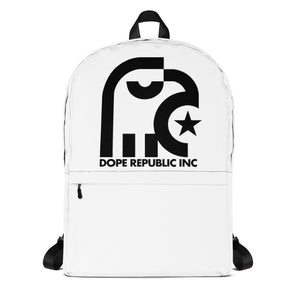 Dope Republic White Backpack