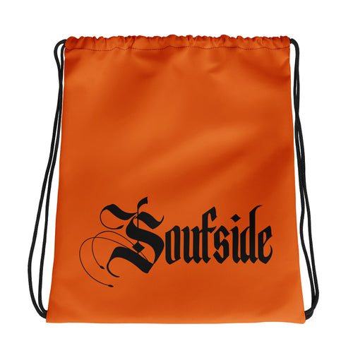 Soufside Drawstring Orange bag