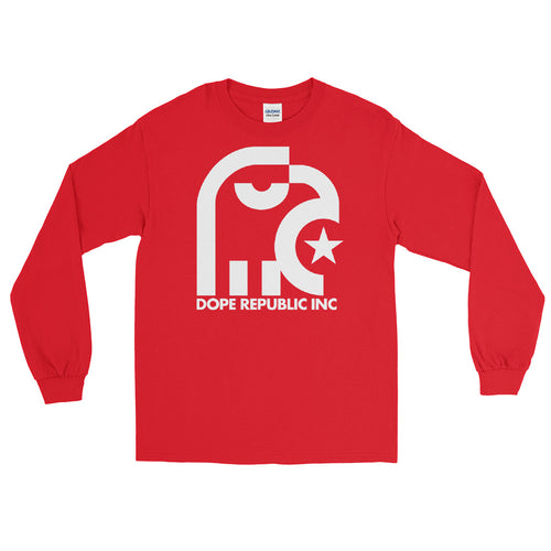 Dope Republic Long Sleeve Red Shirt