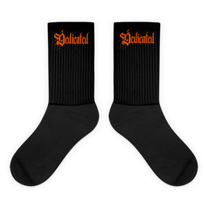 Dedicated Black Socks