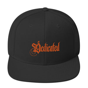 Dedicated Snapback Black Hat