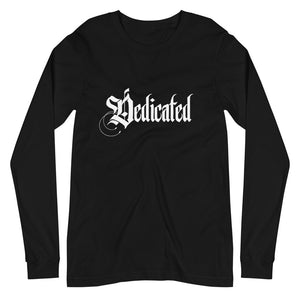 Dedicated Long Sleeve Black Shirt