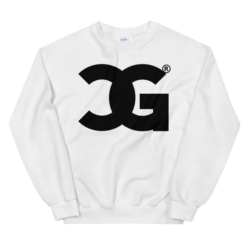 Cxcaine Gvng White Sweatshirt