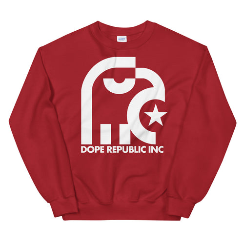 Dope Republic Red Sweatshirt